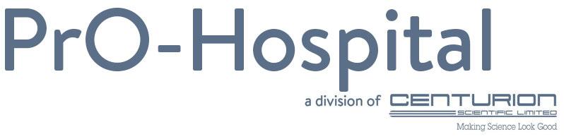 Pro Hospital Centrifuges Logo